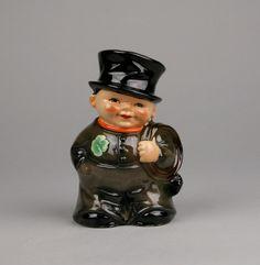 Vintage Goebel Irish Chimney Sweep Bank (Key Missing) Brings Luck to a Wedding Made In W. Germany by AuntHattiesAttic on Etsy https://www.etsy.com/listing/255311600/vintage-goebel-irish-chimney-sweep-bank