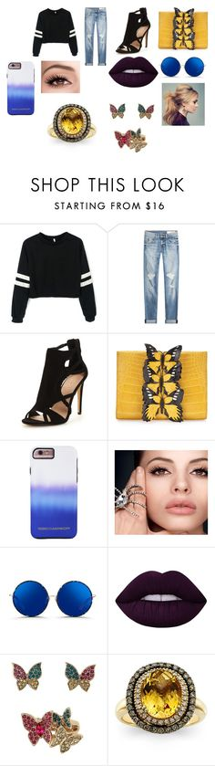 """""""#53"""" by jasmine-c05 ❤ liked on Polyvore featuring rag & bone, Nancy Gonzalez, Rebecca Minkoff, Matthew Williamson, Lime Crime, Betsey Johnson and LeVian"""