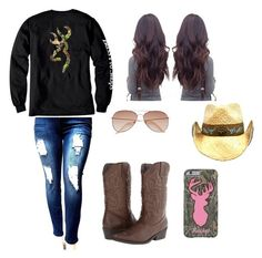 Designer Clothes, Shoes & Bags for Women Country Girls Outfits, Sexy Cowgirl Outfits, Southern Outfits, Teenage Girl Outfits, Cute Casual Outfits, Teenager Outfits, Curvy Outfits, Western Outfits, Outfits For Teens