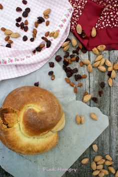 marzipan challah with rum soaked cherries recipe