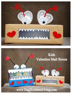 mailboxes for valentines day