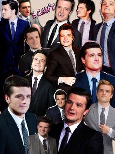 Josh in suits aka my sexual orientation
