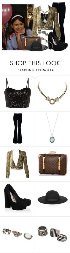 """""""X-Men: Days of Future Past (2014)"""" by grandmasfood ❤ liked on Polyvore featuring STELLA McCARTNEY, Armenta, Louis Vuitton, Miu Miu, Lipsy, H&M, MANGO and Sterling Essentials"""