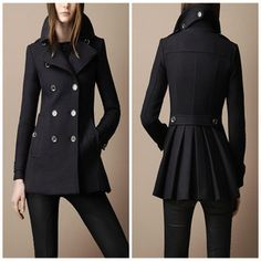 Women European style Wool wool coat for winter Fashion outwear overcoat-inWool & Blends from Apparel & Accessories on Aliexpress.com