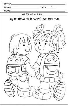 ATIVIDADES DE VOLTA AS AULAS 2º SEME STRE. | Cantinho do Educador Infantil