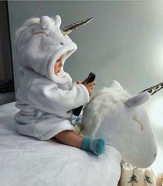 Riding the unicorn Riding the unicorn - Cute Adorable Baby Outfits Little Babies, Little Ones, Cute Babies, Foto Baby, Cute Baby Pictures, Everything Baby, Baby Kind, Beautiful Babies, Kids And Parenting