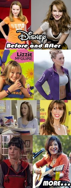 Disney Kids Now And Then