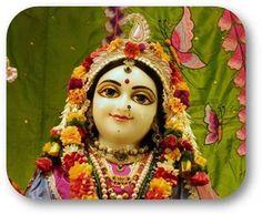 Today's Darshan Srimati Radharani @ISKCONNVCC, Pune