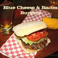 Blue Cheese Bacon Burgers