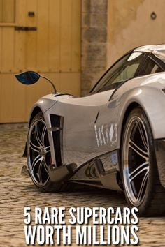 5 Rare Supercars Worth Millions