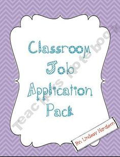 Class job application
