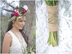 Bohemian Style Wedding Inspiration with a Fantastic Homemade Teepee | Fab You Bliss