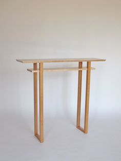 Narrow Hall Table Console Table Narrow Entry By MokuzaiFurniture, $750.00