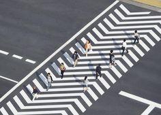 departurelane: >crosswalkSubtle cues can create profound change.  Finalist in the 2015 Lexus Design AwardDesign: Naoki Kaminaka & Ryo Yamaguchi