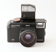 Agfa Optima Sensor Flash 35mm Point and Shoot Film Camera - Fully Working