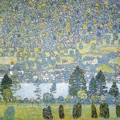 Gustav Klimt - Pendio montano