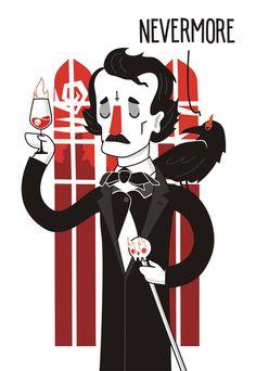 Edgar Allan Poe by Dmitry Stolz