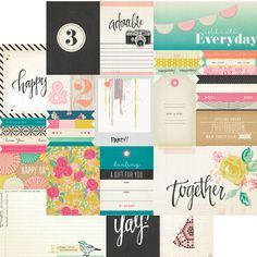 Crate Paper - Confetti Collection - 12 x 12 Double Sided Paper - Party at Scrapbook.com