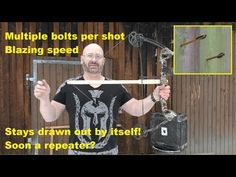 """""""The Scatterbow"""" - Coolest Archery Invention Homemade Crossbow, Pvc Pipe Projects, Archery, Inventions, Vikings, Youtube, Watch, Awesome, Videos"""