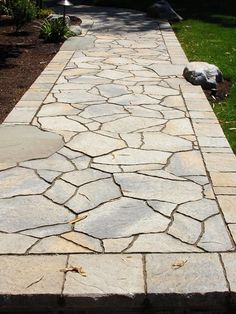 Portland Paver Path, front walkway, idea