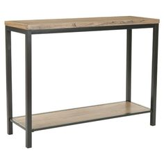 "Brandon Console Table // 153.00 // 31.2"" H x 41.3"" W x 14.2"" D"