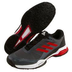 huge discount cec47 00b5b adidas Barricade Club OC Men s Tennis Shoes Racquet Black Mesh Upper NWT  CM7783  adidas Racquet