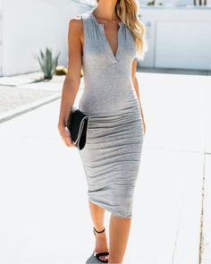 Dresses – Page 6 – narachic Grey Bodycon Dresses, Sexy Dresses, Fashion Dresses, Summer Dresses, Women's Fashion, Ladies Fashion, Party Dresses, Fashion Online, Fashion Ideas