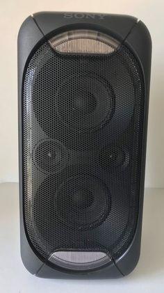 110f0b4f0 Sony GTK-XB60 High Power Bluetooth Portable Home Audio Speaker w LED Home  Audio