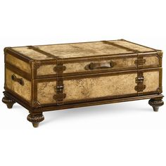 Ernest Hemingway Traveler's Trunk Cocktail Table by Thomasville® - Baer's Furniture - Cocktail or Coffee Table Miami, Ft. Lauderdale, Orlando, Sarasota, Naples, Ft. Myers, Florida