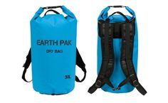 Earth Pak Roll Top Waterproof Dry Bag Review #kayaking #kayak #drybags #hiking #nature #outdoors #fitness #motivation #tech #camping #DIY