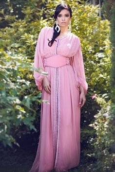 Tekchita mousseline rose  Collection Princesse d'un soir