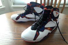 Nike Air Jordan Retro VII 7 Nothing But Net Ugly Sweater 304775-142 Sz. 11.5 #Nike #AthleticSneakers