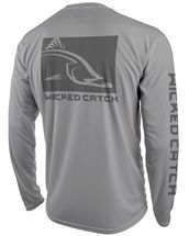 Terra Ceia Line-Sider II: Wicked Catch Performance Fishing Shirt - back