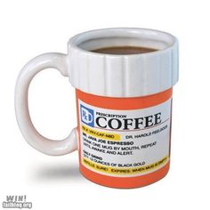Can I get my prescription for coffee refilled?