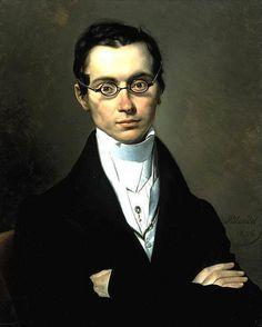 """Portrait of a Man"", Merry Joseph Blondel, 1835"