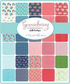 Gooseberry Charm Pack by Vanessa Goertzen for Moda 5010PP