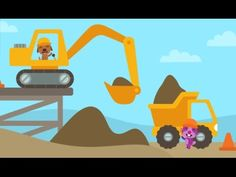 Sago Mini Trucks and Diggers by Sago Sago