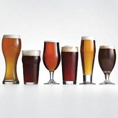 Make sure he always has the right glass for every beer. $49.00 for a set of six different glasses, plus 15 percent off with code GIFTSCOM15!