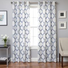 Softline Draper Grommet Top Curtain Panel | Overstock.com Shopping - The Best Deals on Curtains