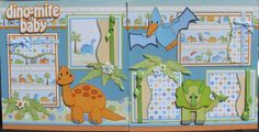 Designs on Cloud 9.... Dino-Mite Baby layout