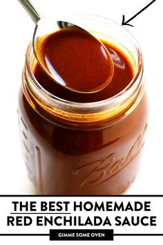 Easy Enchilada Sauce, Recipes With Enchilada Sauce, Vegetarian Recipes Dinner, Mexican Food Recipes, Hot Honey Recipe, Amazing Food Videos, Pantry Diy, Homemade Barbecue Sauce