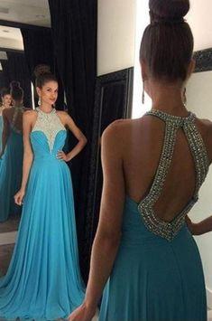 d0f4b8998 Cap Sleeve Prom Dress Short Prom Dress Pretty Prom Dress Junior Prom Dress  Cute Prom DressHalter Beading Chiffon Long Prom Dresses For Teens,Elegant  Open ...