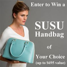 Enter to win a Susu Handbag! http://www.newlycrunchymamaof3.com/home/susu-handbags-review-and-giveaway-1231