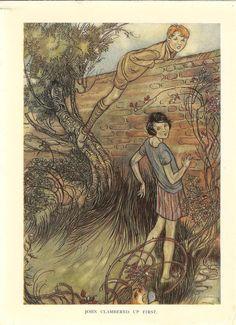 Image result for walled garden illustration rackham