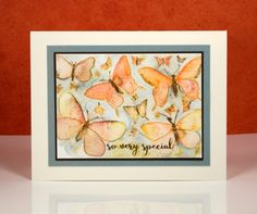 so very special butterflies Heather Telford - Butterfly Charmer stamp #40-442