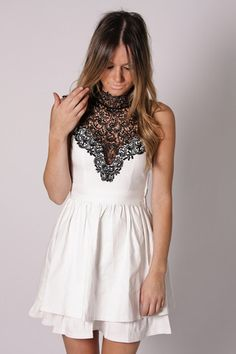 Black Lace + White Lace
