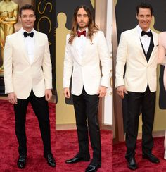 What's buzzing at the 2014 Academy Awards   Gallery   Wonderwall Jared Leto and Matthew MCConaughey won for Dallas Buyer's Club.