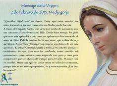 #MENSAJE DE LA VIRGEN, 2 DE FEBRERO DE 2015, #MEDJUGORJE