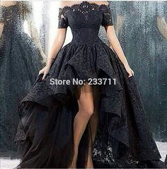 Charming Marsala Boat Neck Corset Ball Gown Black High Low Lace Long Prom Dresses 2016 Zipper-Up Court Train 59173