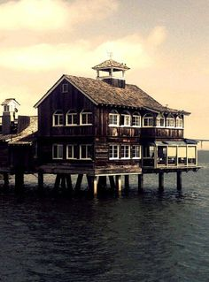 The Harbor House in Seaport Village, San Diego.